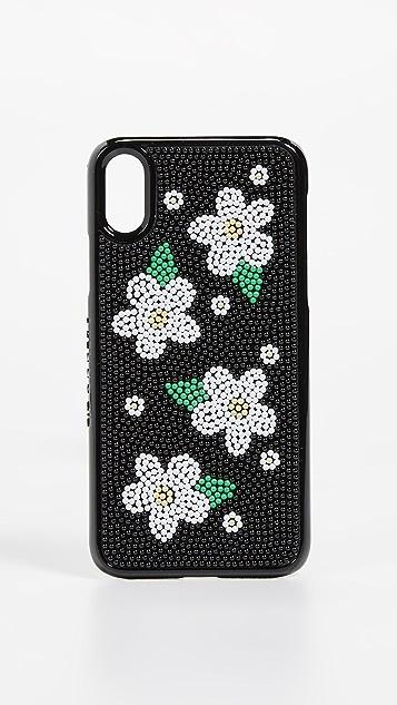 Skinnydip Расшитый бисером чехол Daisy для iPhone X/XS