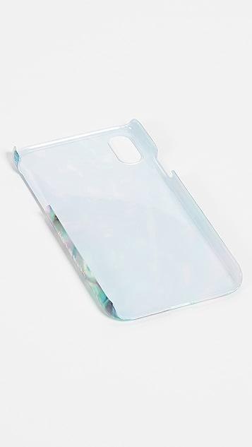 Skinnydip Чехол для iPhone X/XS с искусственным перламутром
