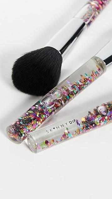 Skinnydip 彩虹基本款化妆刷套装