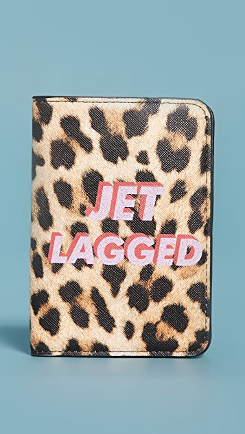Skinnydip Jetlagged Passport Holder