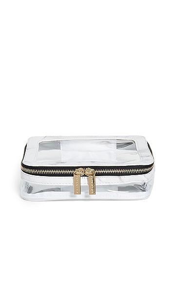 Skinnydip Marble Travel Makeup Bag