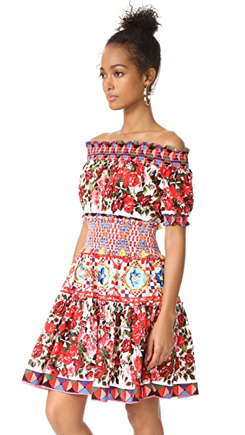 STYLEKEEPERS Wild Flowers Off Shoulder Dress