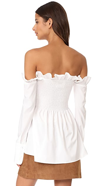 STYLEKEEPERS Afternoon Delight Off Shoulder Top