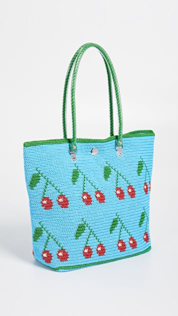 Skipping Girl Carry All Tote