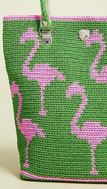 Skipping Girl Классическая объемная сумка с короткими ручками