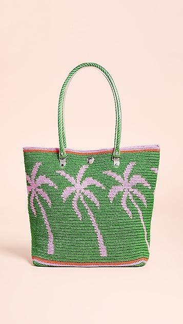 Skipping Girl Объемная сумка с короткими ручками Carry All