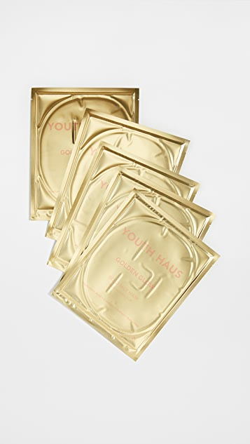 Skin Gym Youth Haus Gold Face Mask 5 Pack