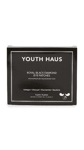 Skin Gym 5 Youth Haus Royal Black Diamond Eye Mask