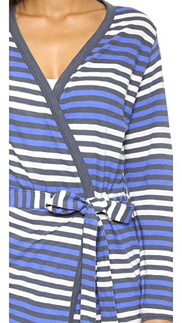 Skin Blue Seas Bianca Robe