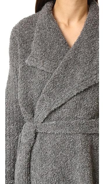 Skin Snowflake Wrap Robe
