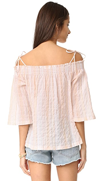 Skin Off Shoulder Top