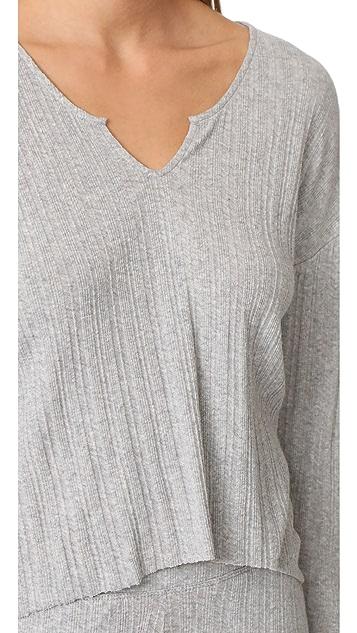 Skin Viola Long Sleeve Shirt