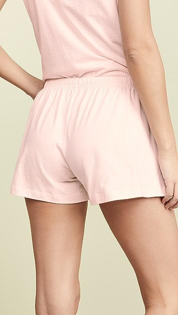 Skin Olive Shorts