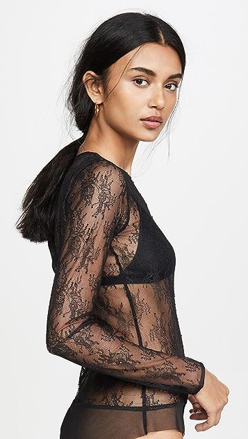 Skin Sabrina Lace Bodysuit
