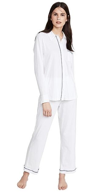 Skin Paulina Long-Sleeve PJ Set