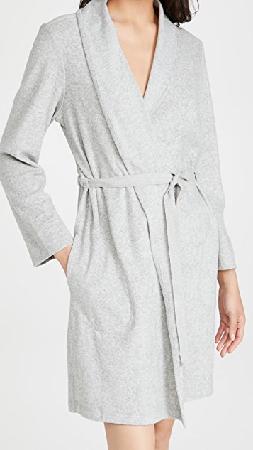 Skin Micro French Terry Organic Robe