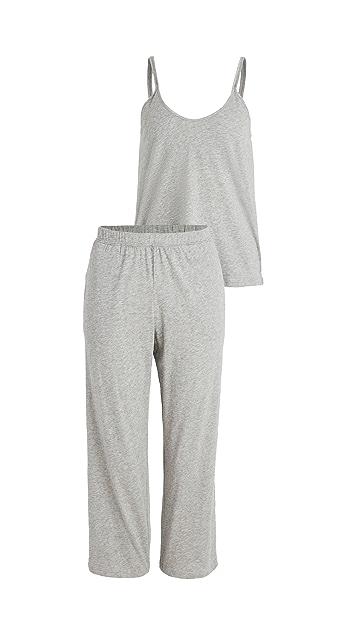Skin Calista Double Strap Cami & Crop Pants