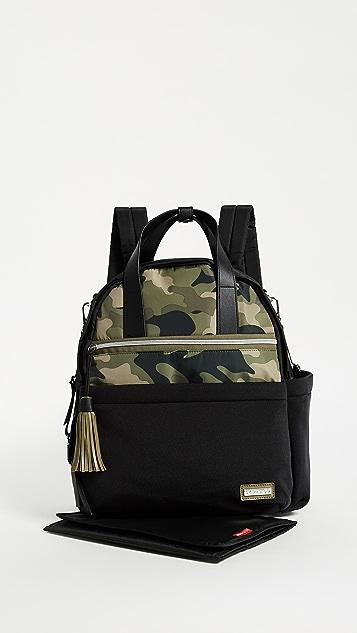 Skip Hop Nolita Neoprene Diaper Backpack - Black/Camo