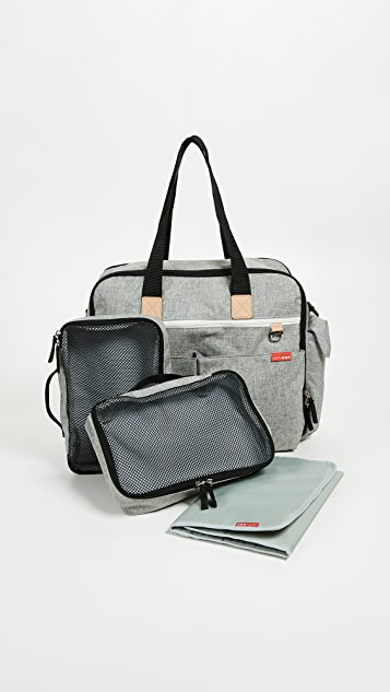 Skip Hop Duo Signature Diaper Weekender Bag
