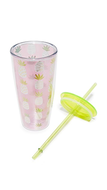 Slant Collections Pineapple Grayson Tumbler