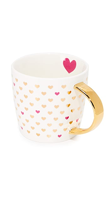 Slant Collections Hearts Coffee Mug