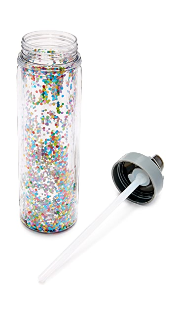 Slant Collections Confetti Water Bottle