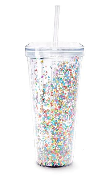 Slant Collections Confetti Tumbler