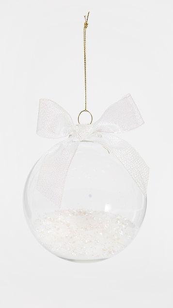 Slant Collections Confetti Glass Ornament