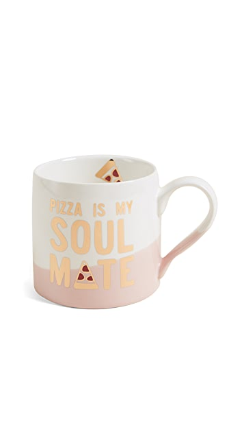 Slant Collections Pizza Is My Soulmate Jumbo Mug