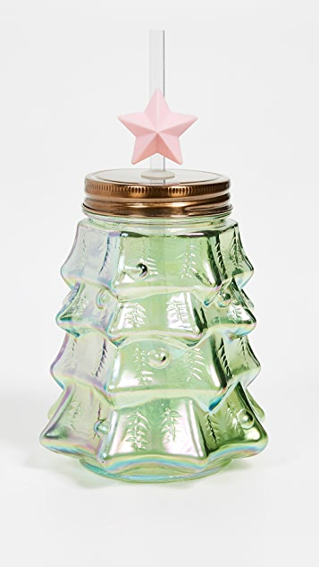 Slant Collections Christmas Tree Sipper