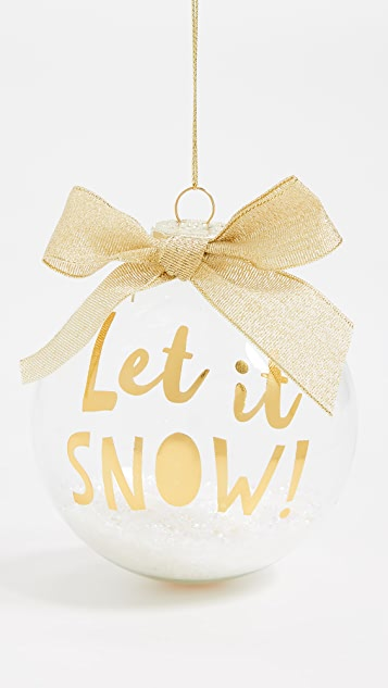Slant Collections Let it Snow Ornament