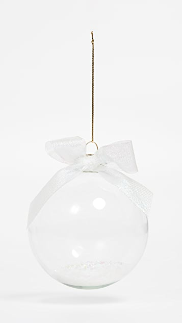 Slant Collections Glass Ornament