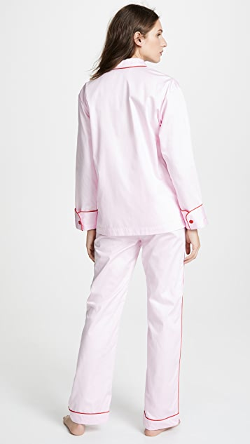 Sleeper Donut Pink PJ Set
