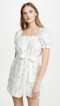Brigitte Linen Mini Dress