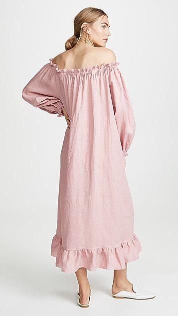 Sleeper Linen Lounge Dress