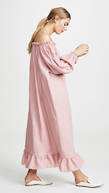 Sleeper Linen Lounge Dress