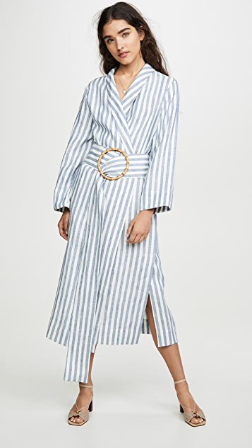 Sleeper Lounge Linen Robe