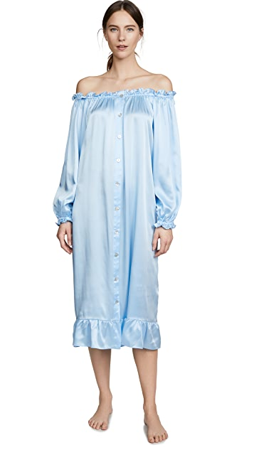 Sleeper Maria Silk Loungewear Dress