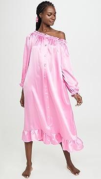 Zephyr Silk Loungewear Dress