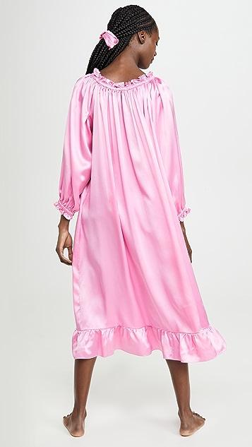 Sleeper Zephyr Silk Loungewear Dress