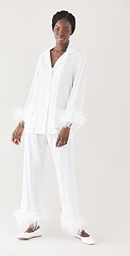 Sleeper - Pajama Set with Feathers