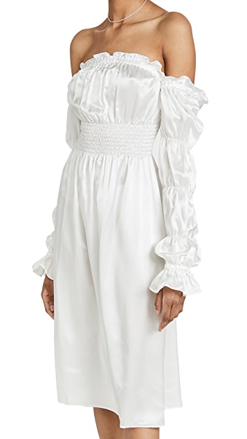 Sleeper Michelin Silk Dress