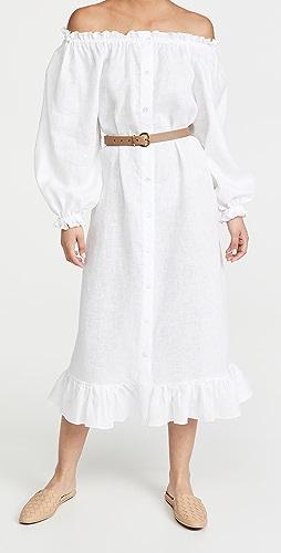 Sleeper - Loungewear Dress In White