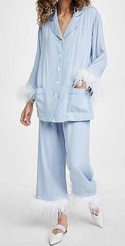 Sleeper - Cornflower Party Pajama Set