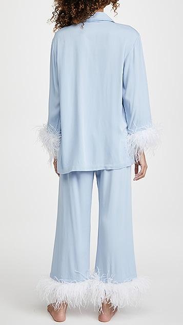 Sleeper Cornflower Party Pajama Set