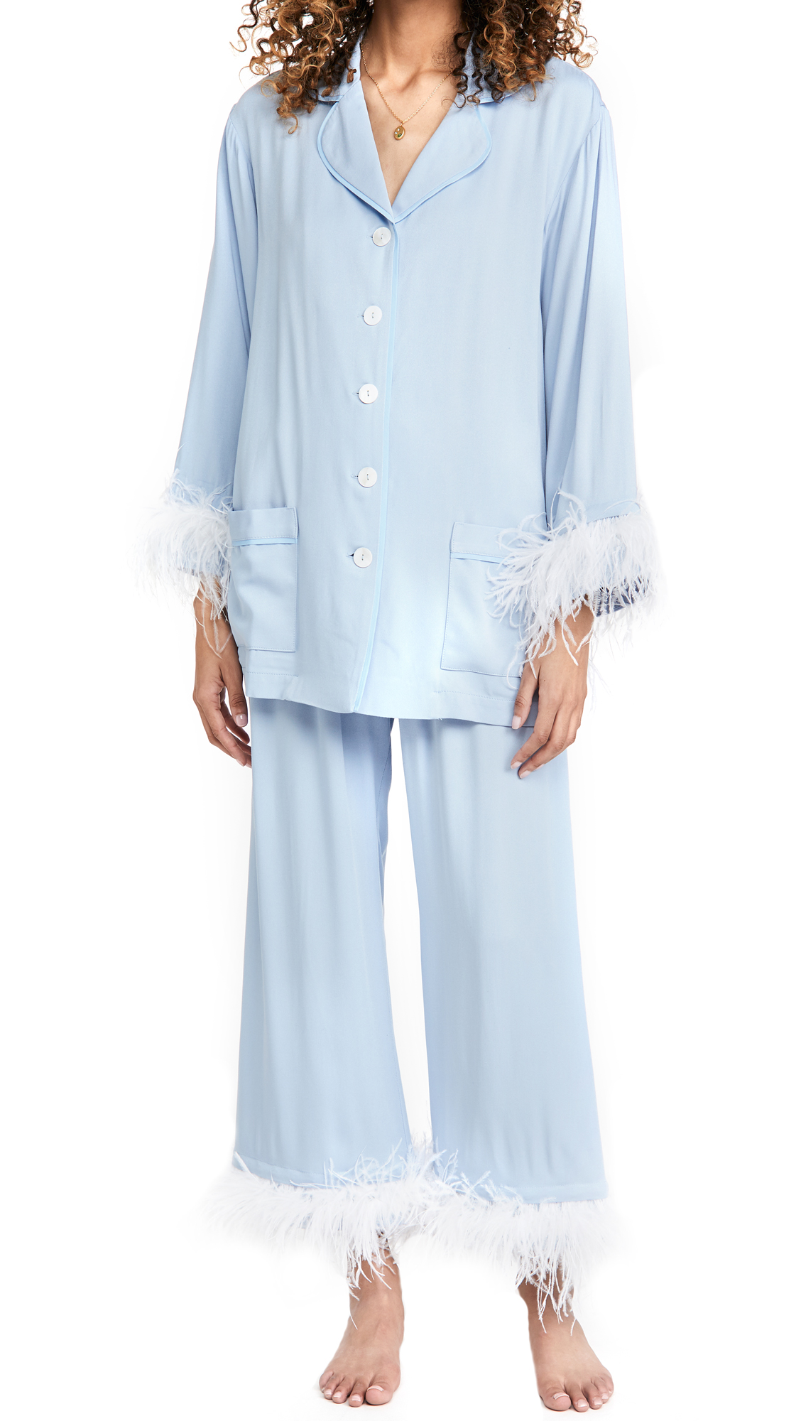 Sleeper Cornflower Party Pajama Set