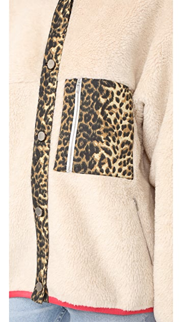 Sandy Liang Checkers Jacket