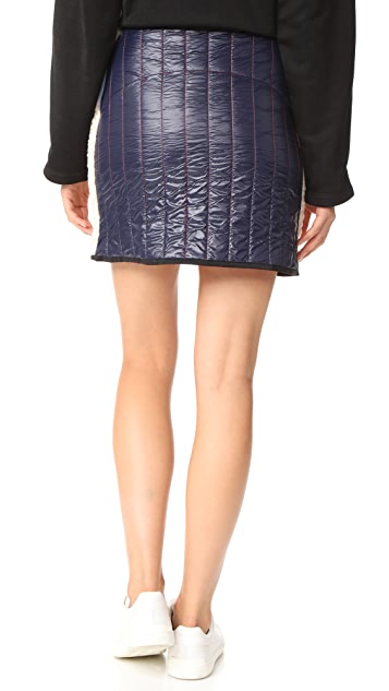 Sandy Liang Zaddy Sherpa Skirt