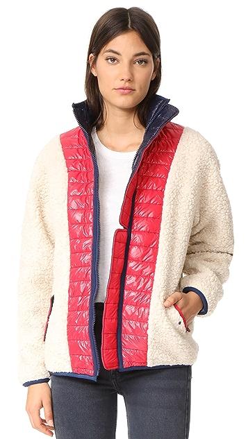 Sandy Liang Chambers Sherpa Jacket