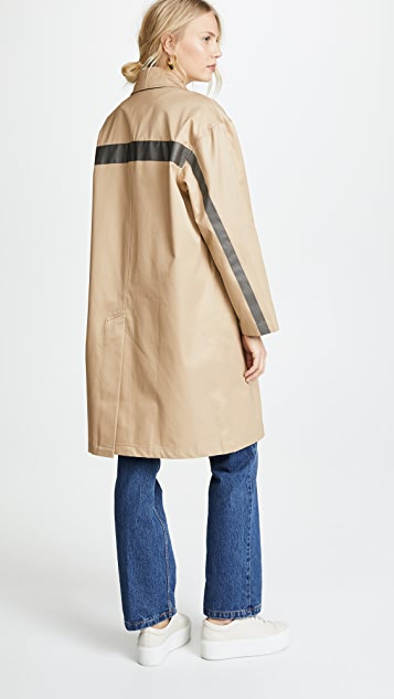 Sandy Liang Leesi Trench Coat